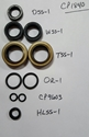 Complete Seal Kit - Horse I and II Tillers Troy-Bilt, Horse, seal, transmission seal, 1840, 9600, 9609, 9616